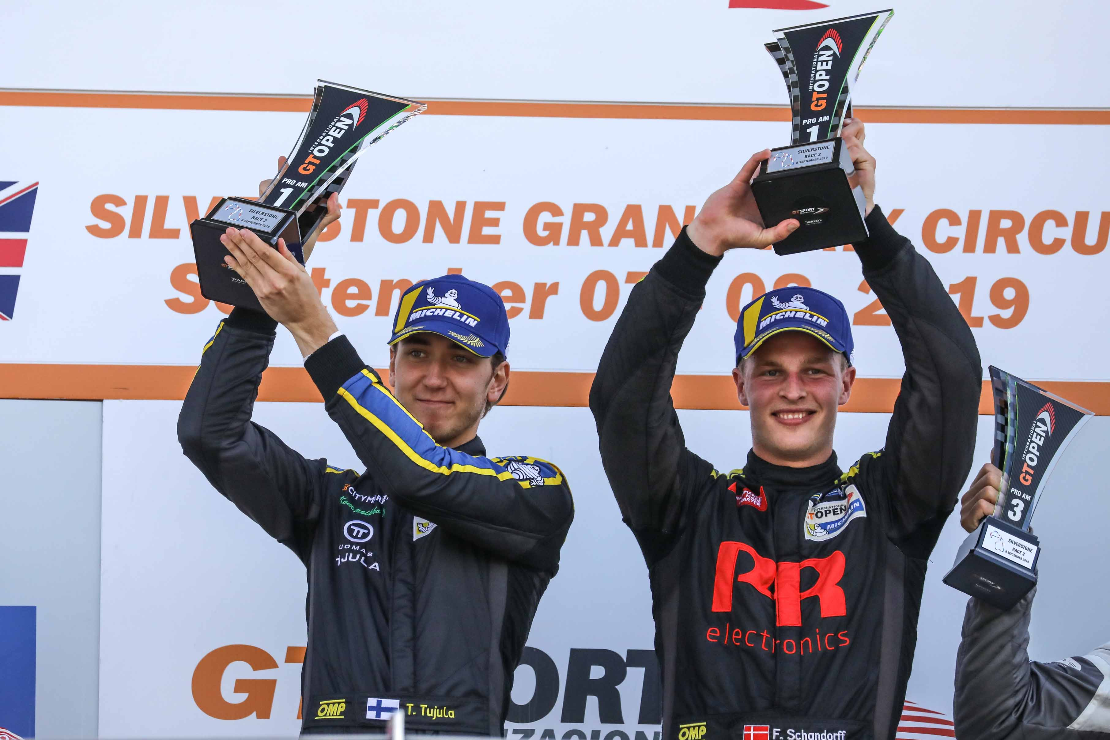 SCHANDORFF AND TUJULA WIN AGAIN AT SILVERSTONE