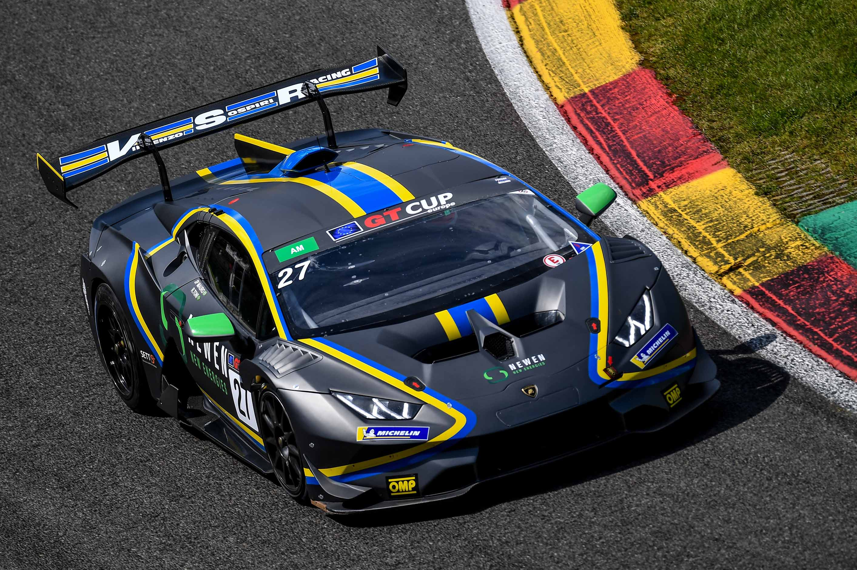 POINTS FINISHES FOR MAURO AND TONI IN SPA DEBUT