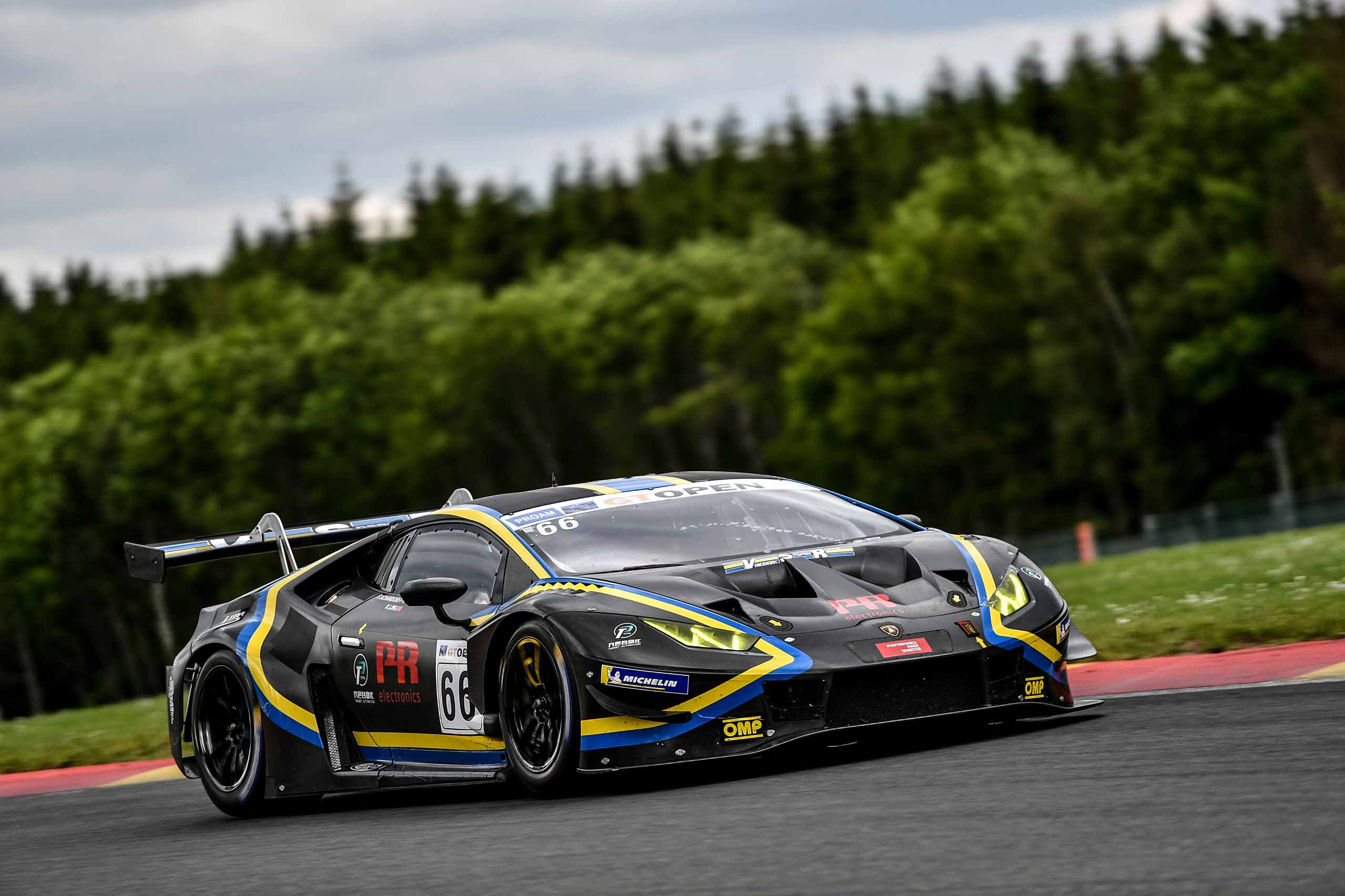 SPA PODIUM KEEPS LING AND SCHANDORFF IN CHAMPIONSHIP HUNT