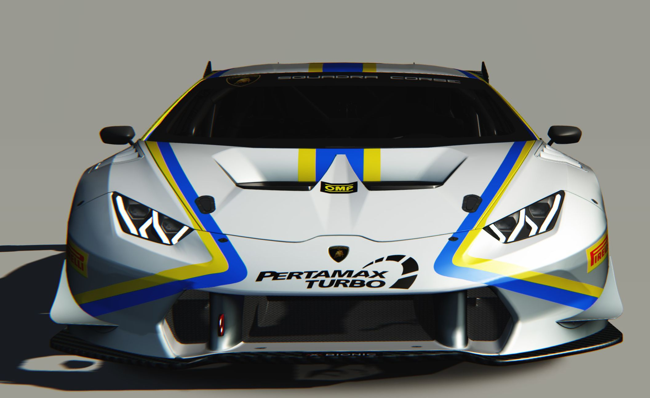 THREE CAR ATTACK ON EUROPEAN LAMBORGHINI SUPER TROFEO FOR VSR