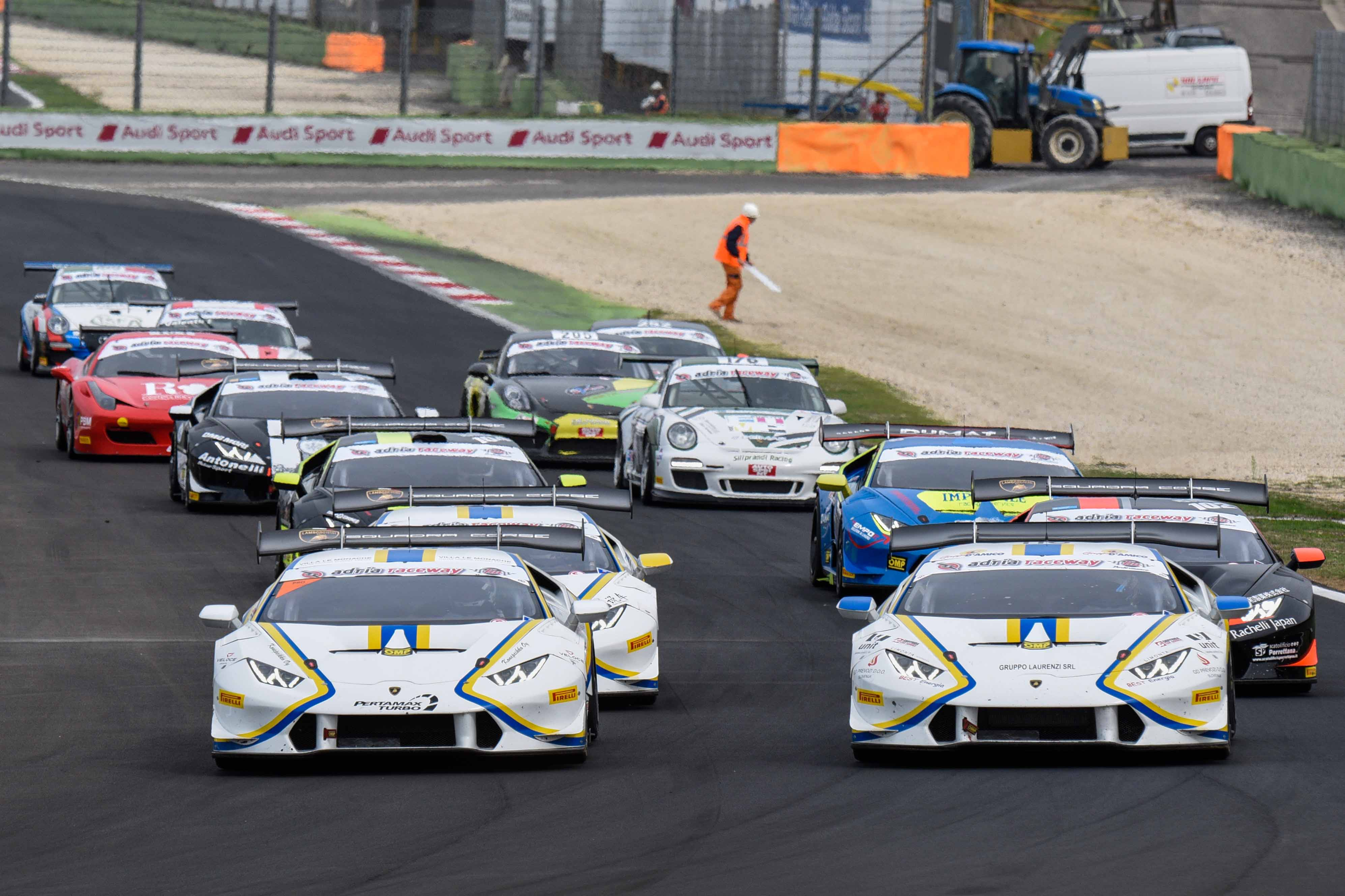 VICTORY FOR CAZZANIGA-D�AMICO AND DOUBLE PODIUM FOR LIANG-ORTIZ TIGHTENS UP CHAMPIONSHIP FIGHT