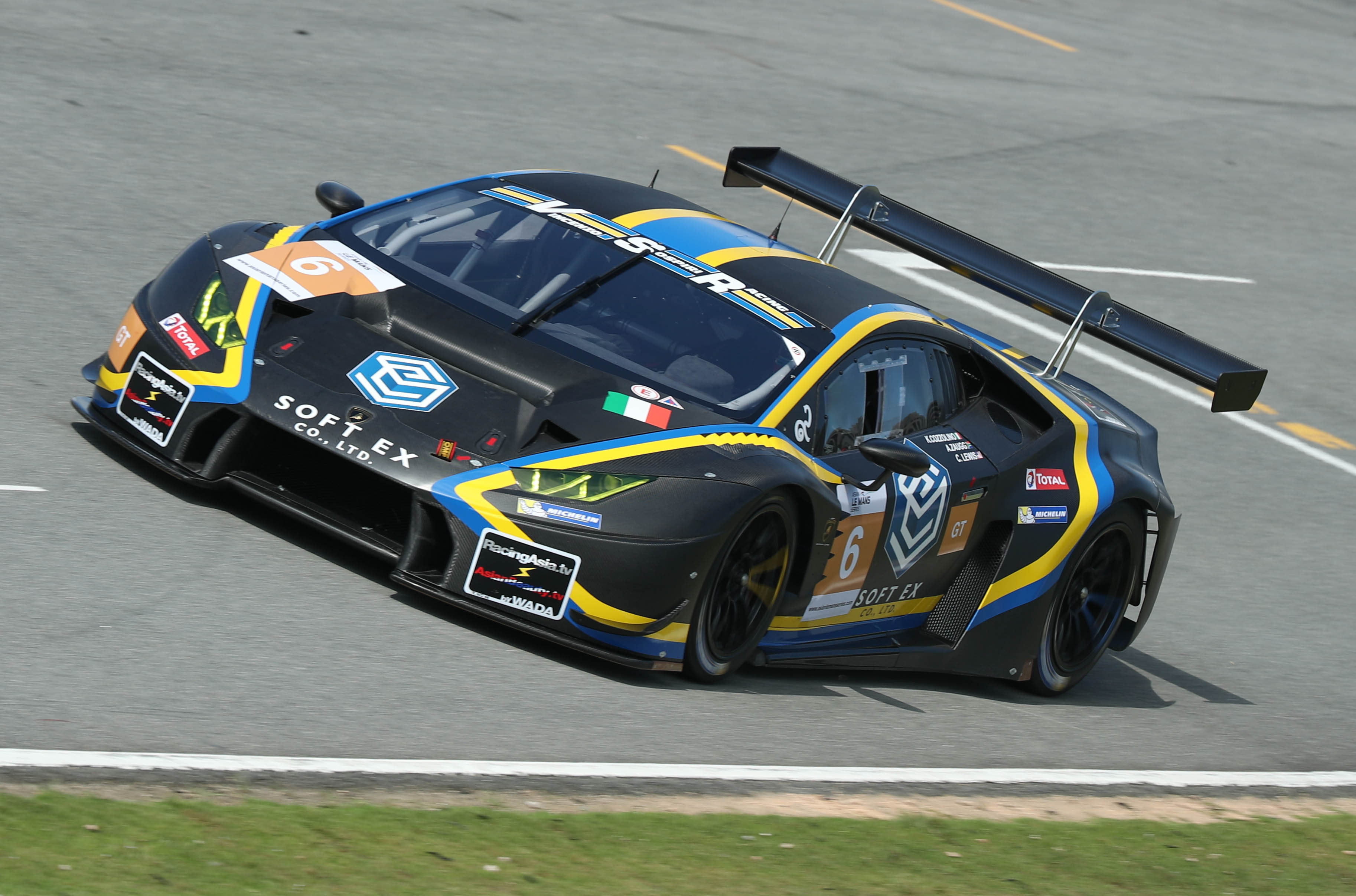 PODIUM IN ASIAN LE MANS SERIES DEBUT