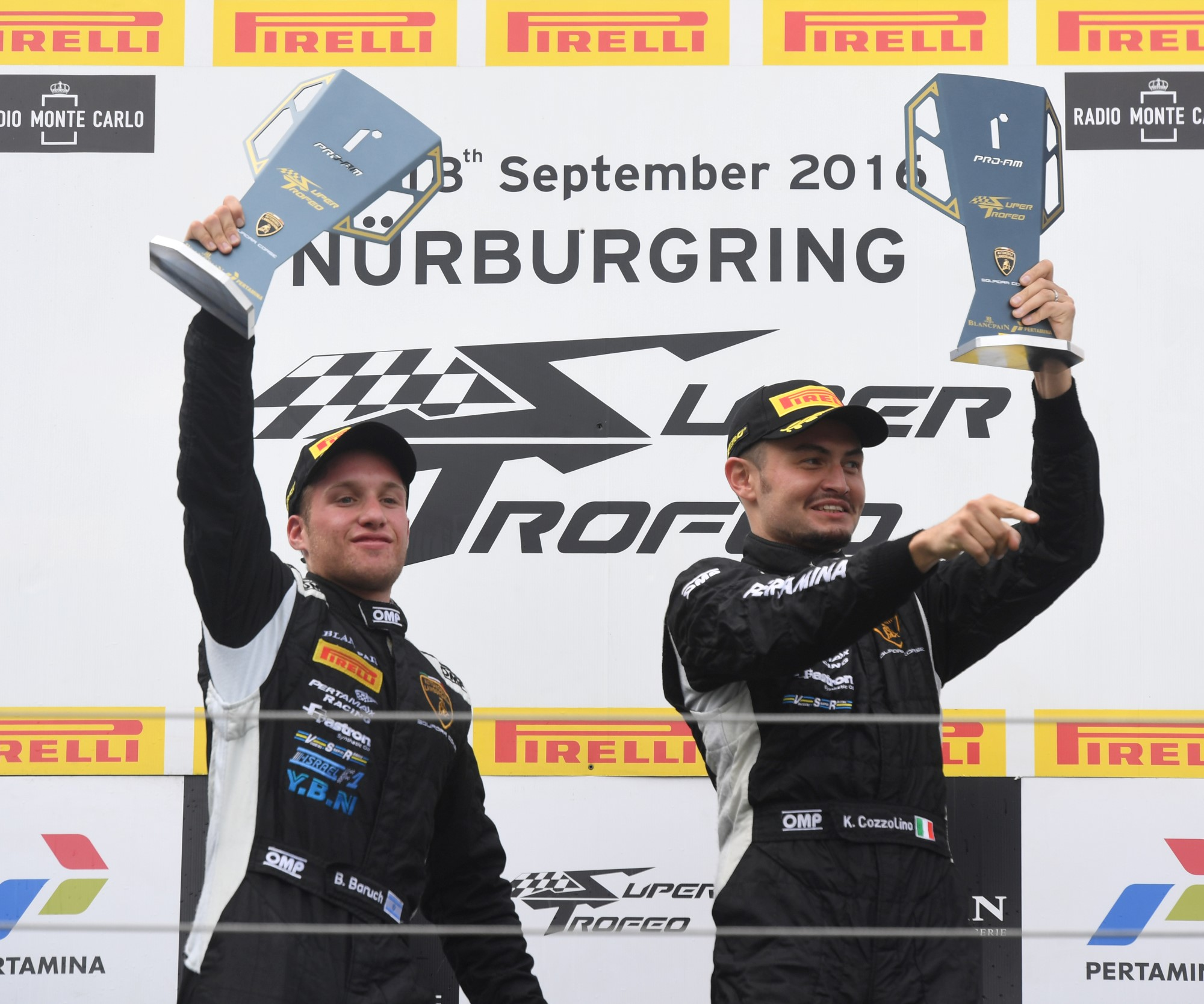 VSR RETURNS TO THE TOP WITH VICTORIES FOR BARUCH, COZZOLINO & KRENZIA