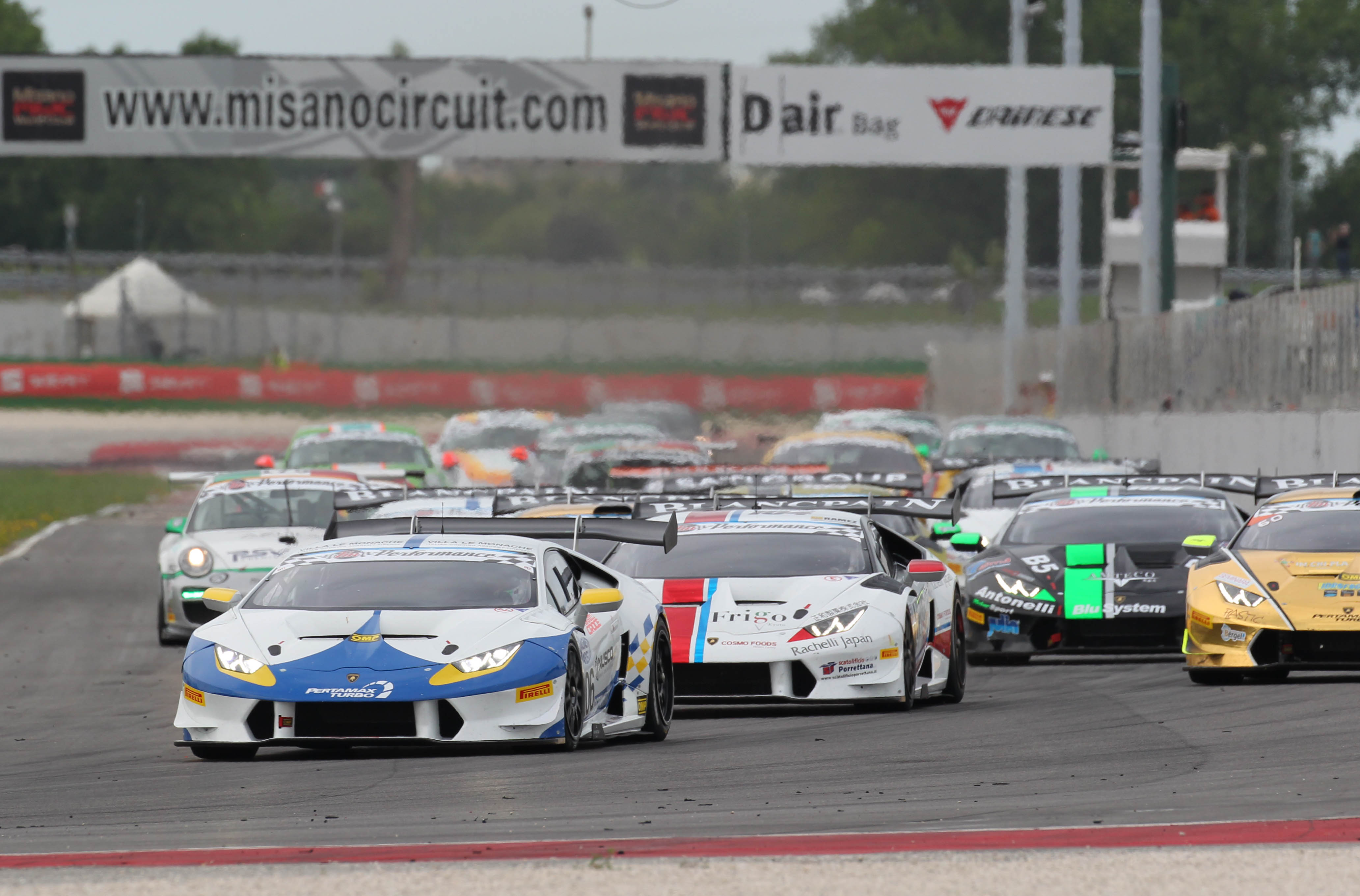 ALL FOUR VSR DRIVERS SAVOUR VICTORY AT MISANO AS SOSPIRI'S TEAM CLAIMS FIRST GT 1-2