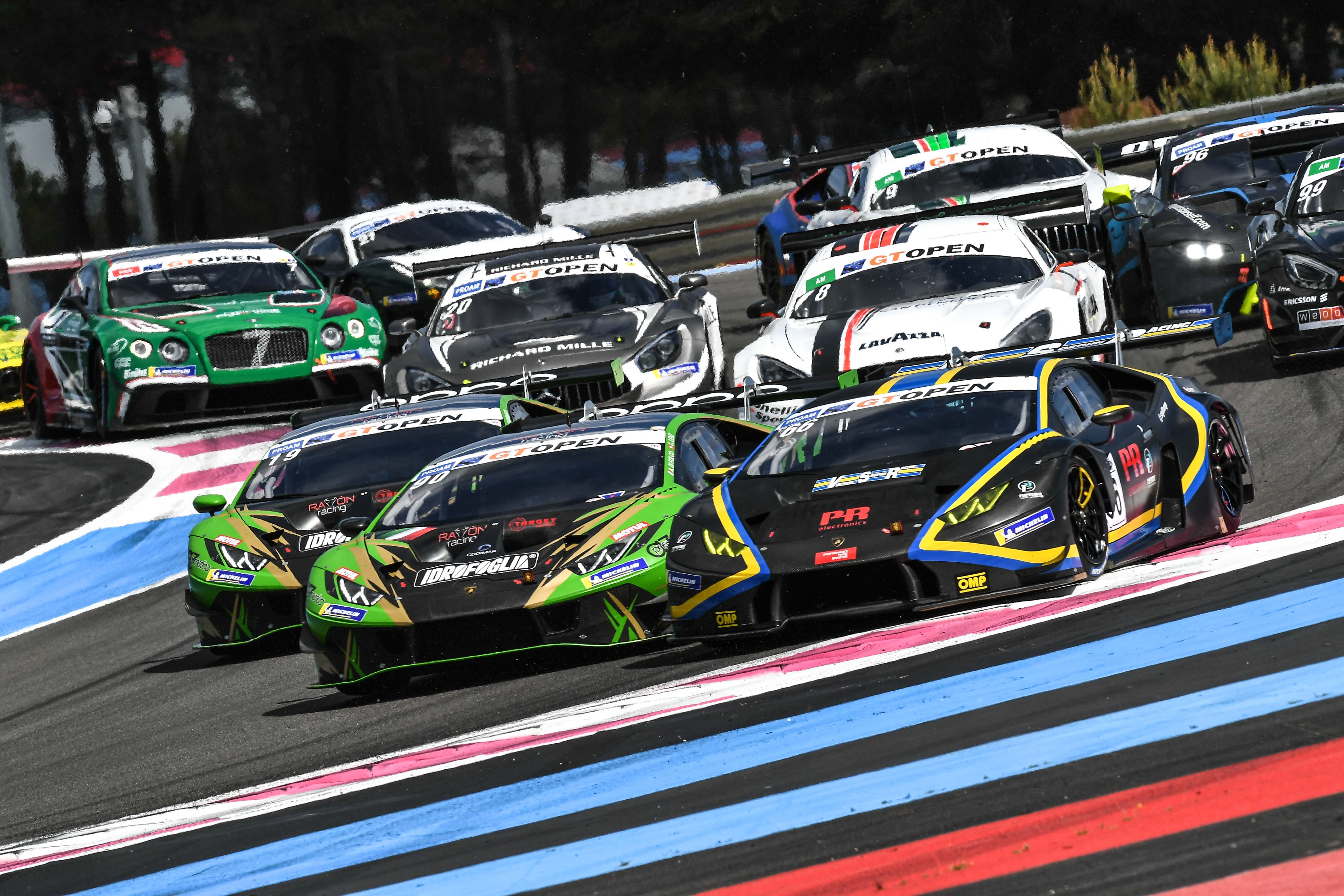 LING AND SCHANDORFF IN THE POINTS AT PAUL RICARD