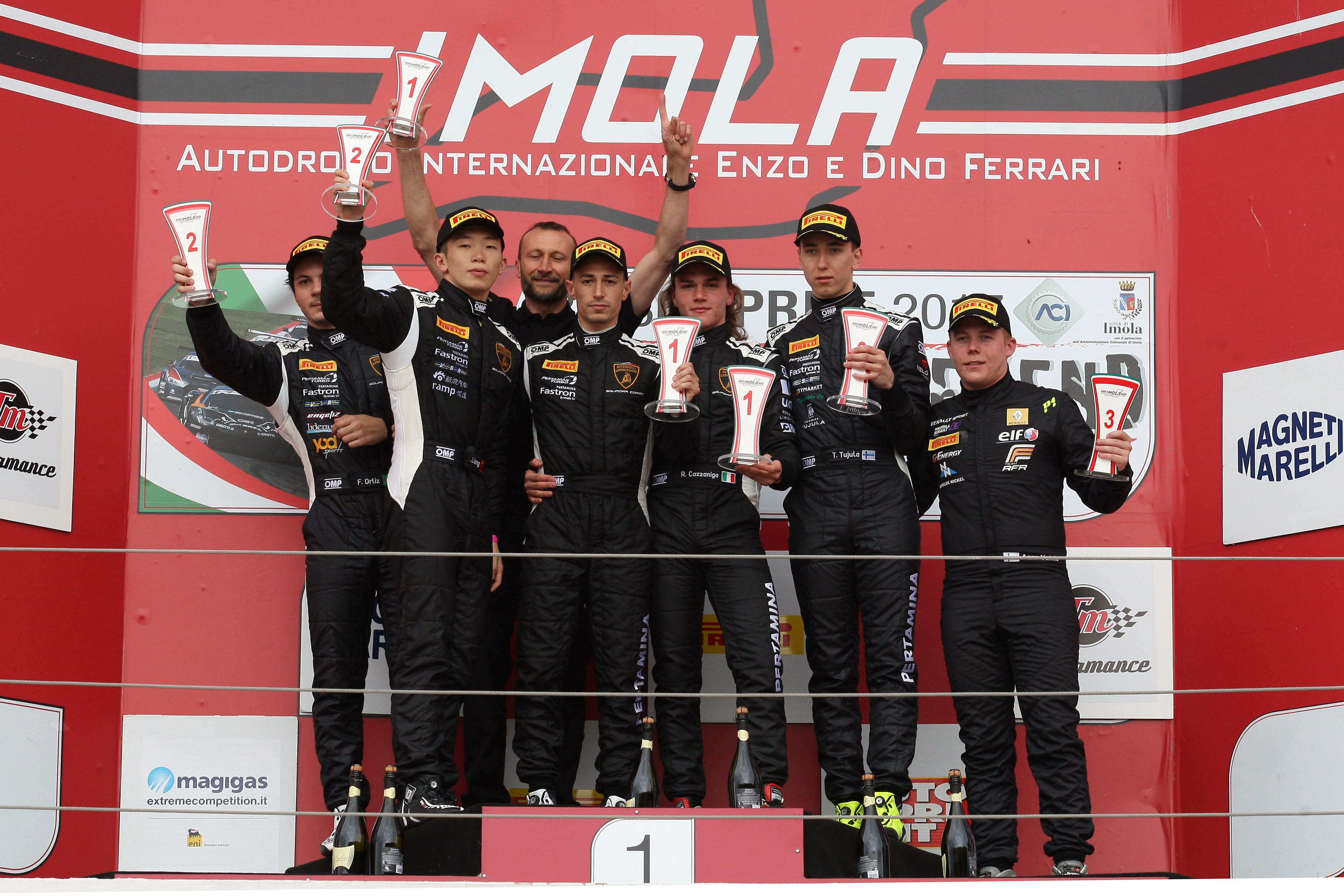 DOMINANT PERFORMANCE FROM VSR AT IMOLA